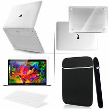"4in1 Crystal Clear Case for Macbook PRO 13""(A1706)+Keyboard Cover+LCD Screen+Bag"