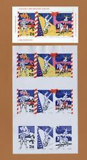 H379 Sweden 1987 Circus Scott #1654-1656  Czeslaw Slania MNH stamps + proof prin
