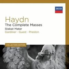 NEW Collector's Ed: Haydn: The Complete Masses; Stabat Mater [8 CD] (Audio CD)