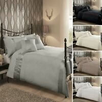 Luxury Caprice Duvet Cover Set With Pillowcases Quilt Cover Soft Bed set
