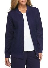 ALFRED DUNNER® 8, 12, 16 Royal Jewels Texture Jacket NWT $64