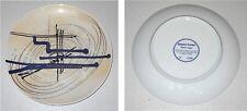 Piatto d'artista Ceramica RENZO PIANO Nuovi segni - Serigrafia Dish