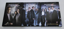 Person of Interest The Complete First, Second and Third Seasons - EXCELLENT!