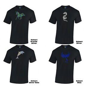 METALIC GRAPHIC Fantastic t-shirt perfect GIFT Cotton 100%