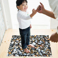 Bathroom Floor Removable Wall Sticker Stone Pattern Vinyl Art Decal Waterproof C