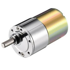 DC 12V 5RPM Mini Gear Box Motor Speed Reduction Electric Gearbox Eccentric I2 YS