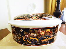 Villeroy & Boch Germany INTARSIA Covered Vegetable Bowl Casserole Serving  NICE!