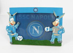 NAPOLI Calcio Cornice Portafoto Prodotto Ufficiale - in rilievo e da appoggio