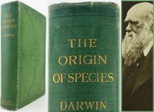 1906*CHARLES DARWIN*THE ORIGIN OF SPECIES*JOHN MURRAY*6th EDITION*ORIGINAL CLOTH