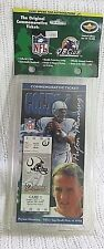 LIMITED EDITION 1998 PEYTON MANNING INDIANAPOLIS COLTS COMMEMORATIVE TICKET