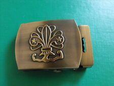 N°13 insigne scout scoutisme scoute boucle ceinturon buckle éclaireur Jamboree