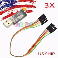 3PCS USB To RS232 TTL CH340G Converter Module Adapter STC replace Pl2303 CP2102