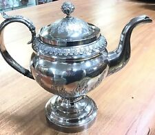 American Colonial Boston 1782 Coin Silver Teapot John Belknap Jones Antique