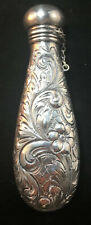 Dominick & Haff Repousse Sterling Silver Ladies Purse Flask