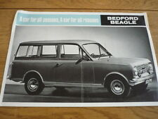 BEDFORD HA BEAGLE ESTATE CAR VAN BROCHURE 1964/5 jm