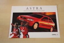75158) Opel Astra - Bayern München - Prospekt 02/2000