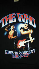 very rare THE WHO 'Live in Concert' 2006/07  TOUR T-Shirt Size: Small VERY GOOD