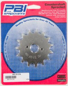 PBI 353-15 Steel Front Sprocket 15T 353-15 50-35315