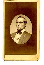 Young Man-Waldack Portrait-Cincinnati-Ohio-CDV Vintage Antique Photograph