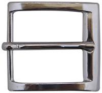 FRONHOFER Classic silver belt buckle, men's belt buckle, minimalist design