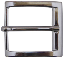 men's belt buckle, minimalist design Fronhofer Classic silver belt buckle,