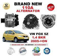 Per VW Fox 5Z 1.4 BKR 2005-ON 1390cc 110 A Alternatore Nuovo Di Zecca ** Qualità OE **