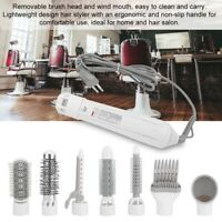 7IN1 Oval Hair Blow Dryer Brush Comb Hot Air Dryer Styler Smooth Styling Tool