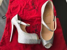 Christian Louboutin Jane Vendome 120 size 36 Brand New!!! Perfect wedding shoe!