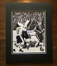 Paul Henderson Autographed Team Canada 1972 Summit Series! COA Tretiak Bossa