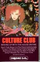 Culture Club Waking Up With The House On Fire Cassette Tape Pop Dance Rock 80s