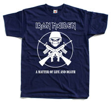 Iron Maiden - A Matter of Life and Death T Shirt All sizes S-5XL100% cotton