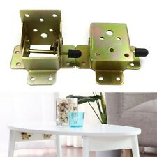 DIY Iron Self Locking Fittings Folding Bracket Folding Table Chair Leg Hinges