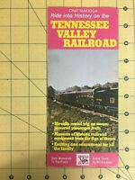 Vintage Travel Brochure Ride into History on the Tennessee Valley Railroad