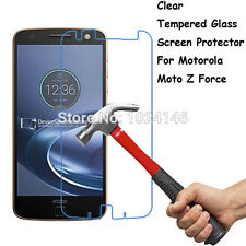 For Motorola Moto Z Force Tempered Glass LCD Screen Protector Film Guard