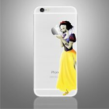 Apple iPhone 6/6s/7/8/X Zombie Snow White decal sticker Disney art (NEW)