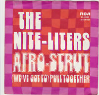 "The Nite - Liters "" Afro Strut , Pull Together "" 70's Soul Funk Breaks 45 Hear"