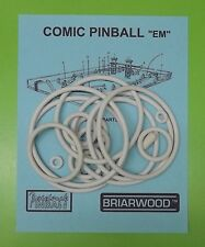 "Briarwood Cosmic Pinball ""EM"" pinball rubber ring kit"