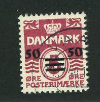 Faroe Islands Stamp - Scott # 5 - Used Very Fine - Cat. Value $90.00 (S208)