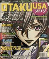 OTAKU USA Magazine DECEMBER 2019 CODE GEASS THE RESURRECTION Cosplay Anime NEW