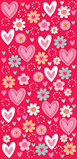 20 X Día de San Valentín Rojo corazón Cello tratar Bolsas Partido favor Cookie Bolsas libre de envío