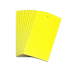 10PCS Large Yellow Sticky Flying Insect Pest Glue Traps Catcher Fly Bugs Wasp