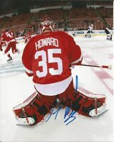 JIMMY HOWARD signed 8x10 photo DETROIT RED WINGS