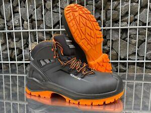 Rokwear S3 WR SRC metallfreie Sicherheitsschuhe Arbeitsschuhe Stiefel 47 ORANGE