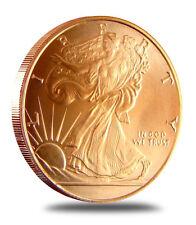 Walking Liberty Half Dollar Design 1 oz each .999 Copper Bullion Round