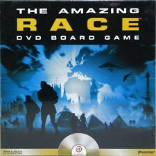 NEW 2006 THE AMAZING RACE DVD BOARD GAME TRAVEL ADVENTURE WORLD COMPETITION SHOW