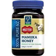 Manuka Health MGO 550+ 500 g Manuka Honey New Zealand