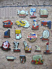 LOT 19 PIN'S DIFFÉRENTS TOTAL / ESSENCE STATION SERVICE PIN PINS #7