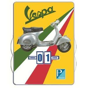 Vespa Form Kalender 400mm x 300mm
