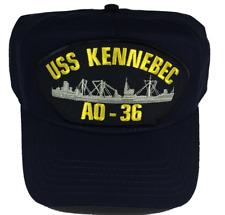 USS KENNEBEC AO-36 HAT CAP USN NAVY SHIP CORSICANA T2 TANKER