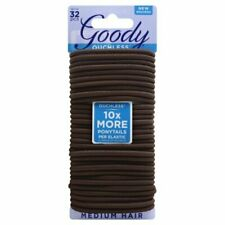 GOODY - Ouchless Women's Braided Elastics for Medium Hair 4 mm Brown - 32 Count